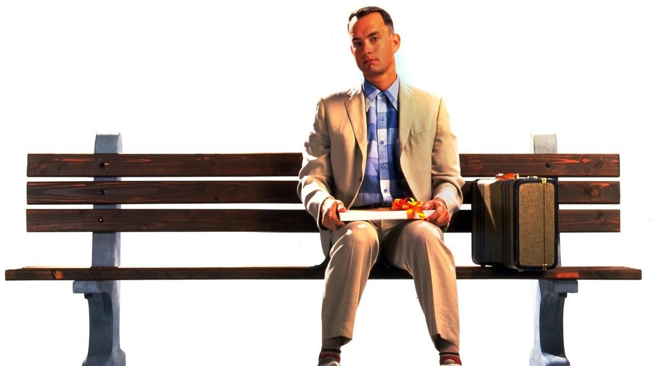 Форест Гам на скамейке
