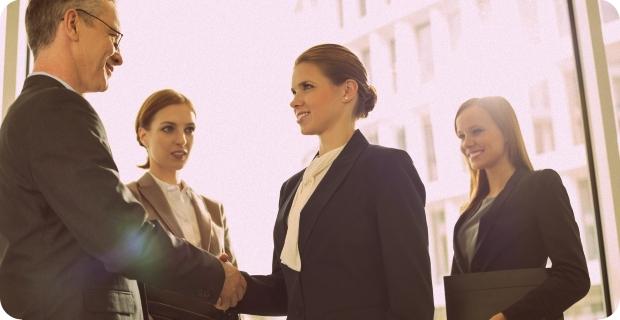 Приветствие в деловой среде