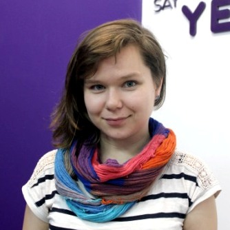 Ольга - студентка курсов английского в Москве