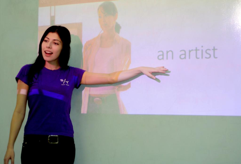 Все наши уроки сопровождаются яркими презентациями